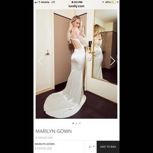 Lurelly Marilyn gown